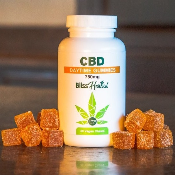 Bliss Herbal CBD Vegan Daytime Gummies